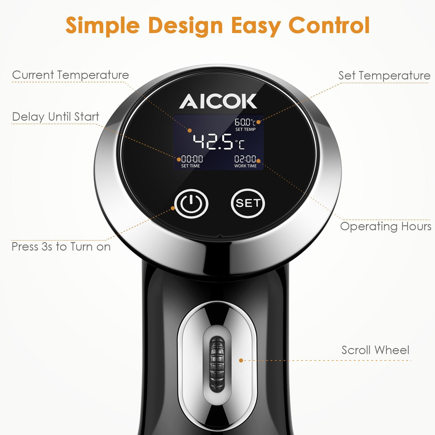 Sous Vide Aicok Amazon