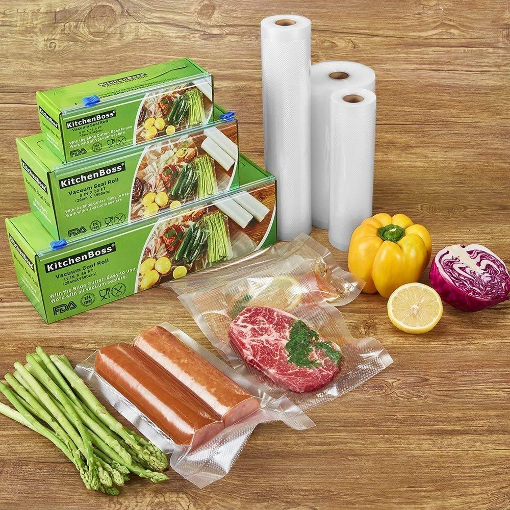 como envasar al vacio alimentos en casa