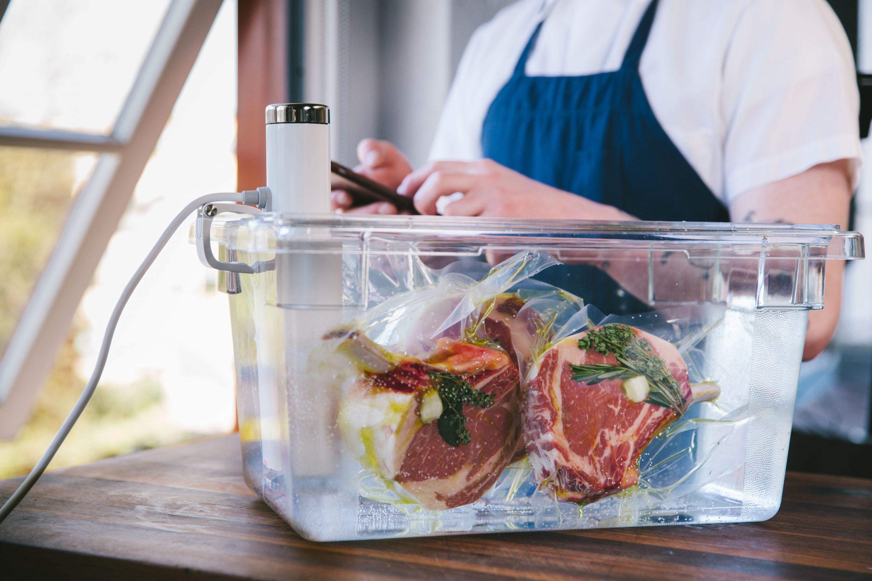 kit inicio cocina sous vide al vacío y a baja temperatura