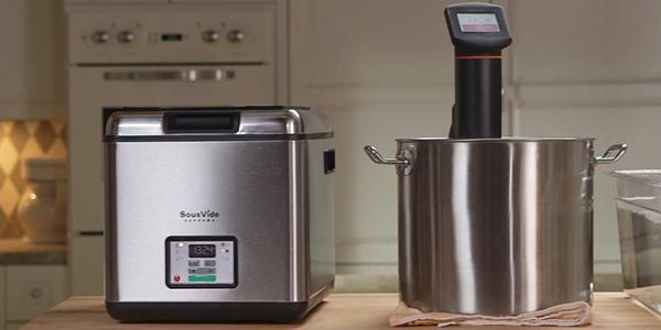 maquinas sous vide para cocinar a baja temperatura