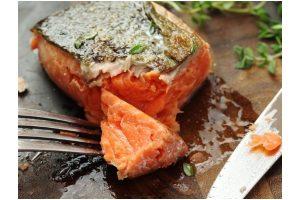 salmon sous vide a baja temperatura