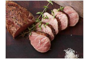 solomillo de cerdo sous vide a baja temperatura
